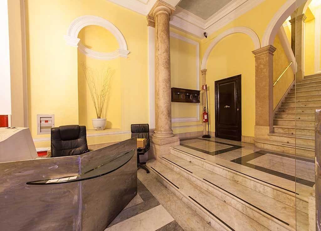 Atrio Palazzo Ufficio via quattro Novembre 114 Roma | COGERAM