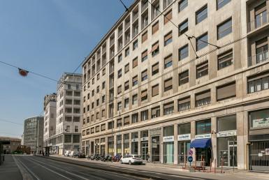 Strada via Albricci Milano