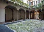 Vista su cortile via Morigi 7 Milano | COGERAM